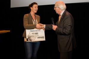 Rianne wint prof. Vooijs award